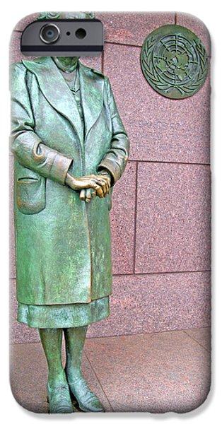 Eleanor Roosevelt -- 1 iPhone Case by Cora Wandel