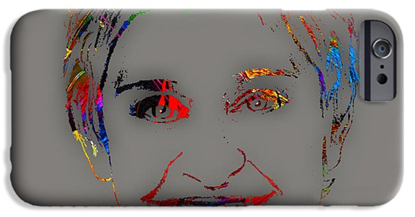 Color iPhone Cases - Ellen Degeneres Collection iPhone Case by Marvin Blaine