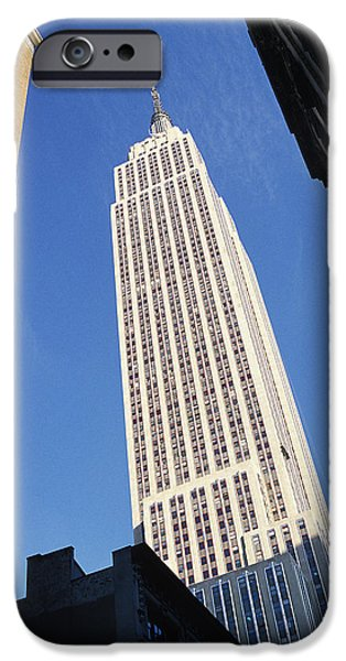 Print Photographs iPhone Cases - Empire State Building iPhone Case by Jon Neidert