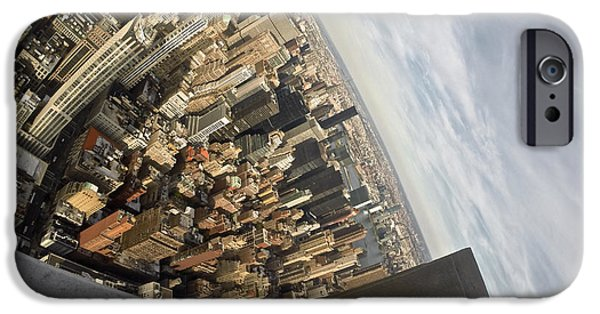 River View iPhone Cases - Empire View iPhone Case by Steven Lapkin
