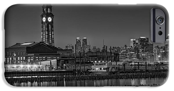Empire State iPhone Cases - Erie Lackawanna Terminal At Twilight iPhone Case by Susan Candelario