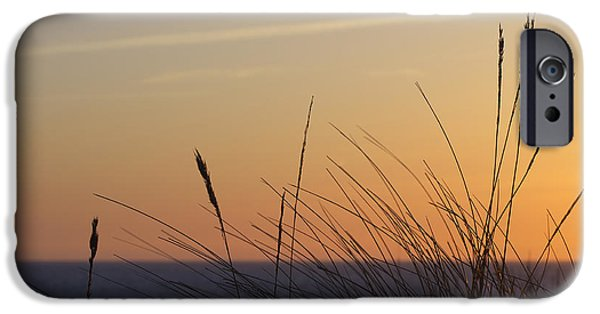 North Sea iPhone Cases - Evening iPhone Case by Angela Doelling AD DESIGN Photo and PhotoArt