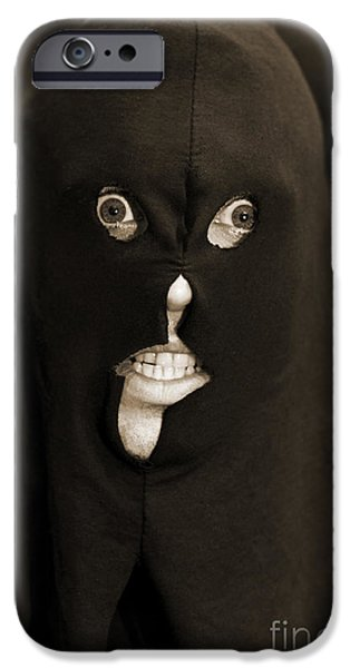 Hangman iPhone Cases - Evil Executioner iPhone Case by Ryan Jorgensen