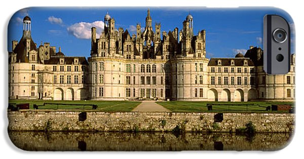 Facade iPhone Cases - Facade Of A Castle, Chateau De iPhone Case by Panoramic Images