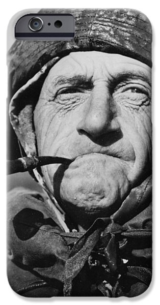 Raincoat iPhone Cases - Faces of World War II iPhone Case by Mountain Dreams