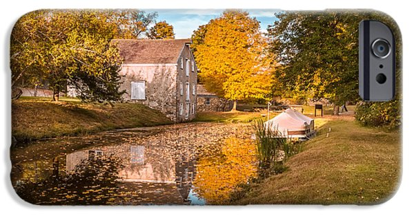 Historic Site iPhone Cases - Fall colors iPhone Case by Eduard Moldoveanu