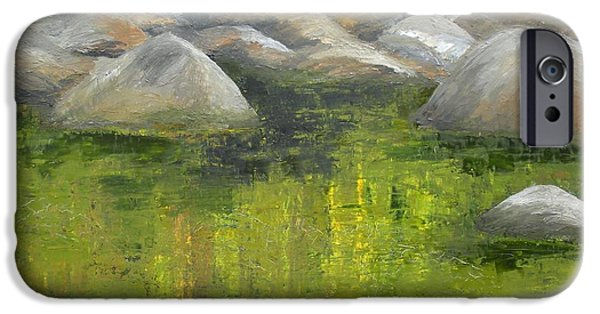 Smokey Mountains Paintings iPhone Cases - Fallen Log iPhone Case by Ralph Loffredo