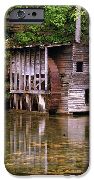 Falling Spring Mill  iPhone Case by Marty Koch