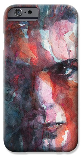 David iPhone Cases - Fame iPhone Case by Paul Lovering