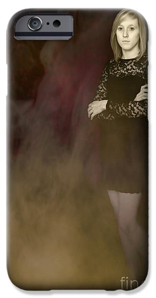 Fantasy Portrait iPhone Case by Amanda And Christopher Elwell