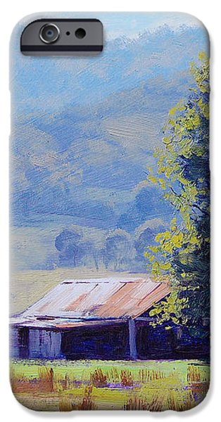 Farm Shed iPhone Case by Graham Gercken