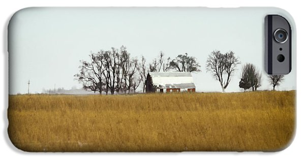 Pasture Scenes Photographs iPhone Cases - Farmland iPhone Case by Margie Hurwich