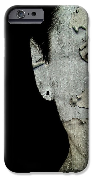 Development Mixed Media iPhone Cases - Feelings iPhone Case by Heike Hultsch