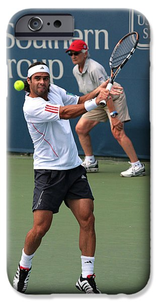 Wta iPhone Cases - Fernando Gonzalez iPhone Case by James Marvin Phelps