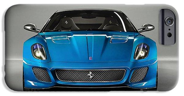 Horse iPhone Cases - Ferrari 559 Gto Sports Car iPhone Case by Marvin Blaine