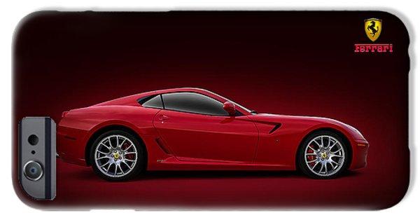 Cars iPhone Cases - Ferrari 599 GTB iPhone Case by Douglas Pittman