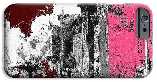 Intolerance iPhone Cases - Film Homage D.w. Griffith Intolerance 1916 Fall Of Babylon 1916-2012 iPhone Case by David Lee Guss