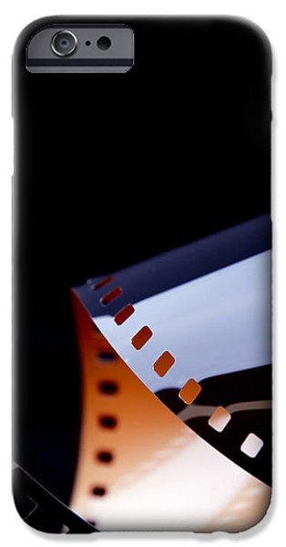 Film Strip Abstract iPhone Case by Tim Hester