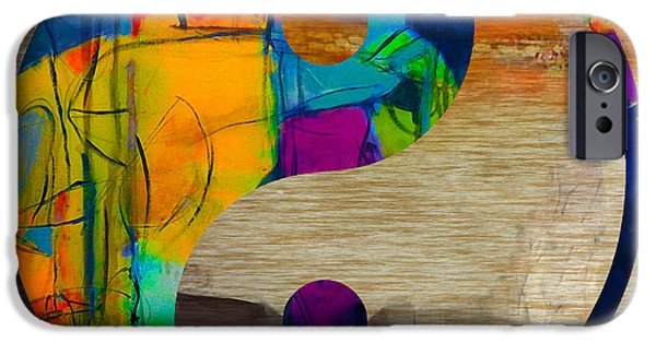 Yin iPhone Cases - Finding Good Balance iPhone Case by Marvin Blaine