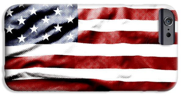 Nation iPhone Cases - Flag iPhone Case by Les Cunliffe