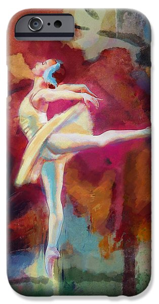 Flamenco Dancer iPhone Case by Catf