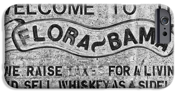 Bama iPhone Cases - Flora Bama Bar Sign iPhone Case by Mountain Dreams