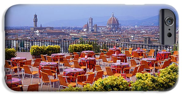 Michelangelo iPhone Cases - Florence, Italy iPhone Case by Panoramic Images