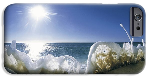 Print Photographs iPhone Cases - Foam Inertia iPhone Case by Sean Davey