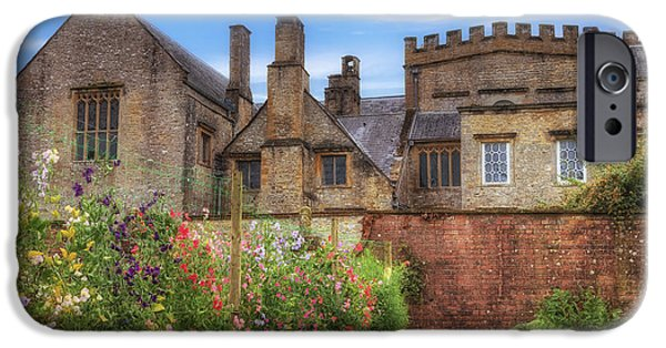 Somerset iPhone Cases - Forde Abbey iPhone Case by Joana Kruse