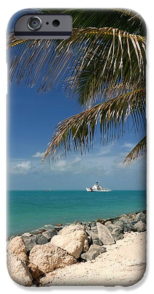 Fort Zachary Taylor Beach iPhone Case by Amy Cicconi