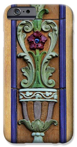 Nebraska iPhone Cases - Fox Floral iPhone Case by Sylvia Thornton