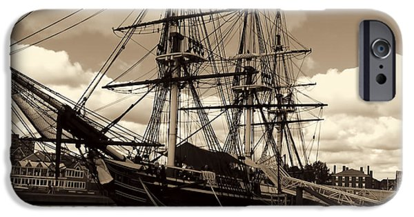 Historic Site iPhone Cases - Friendship of Salem iPhone Case by Lourry Legarde