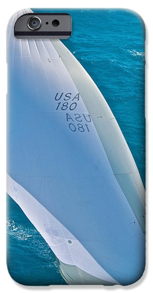 Mahogany Red iPhone Cases - Full Sails iPhone Case by Steven Lapkin