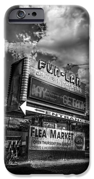 Theater iPhone Cases - Fun-Lan iPhone Case by Marvin Spates