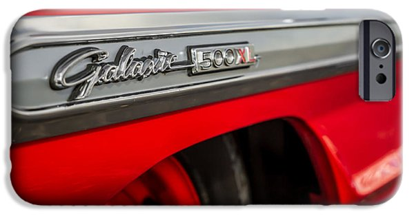 1964 Ford Emblem iPhone Cases - Galaxie 500XL iPhone Case by Ron Pate