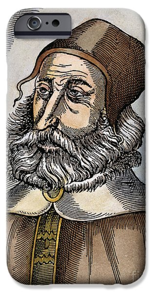 Pare iPhone Cases - GALEN (129-c200 A.D.) iPhone Case by Granger
