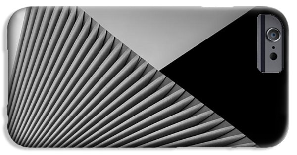 Torsion iPhone Cases - Geometry  iPhone Case by Rodica Tanase
