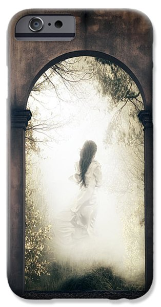 Creepy iPhone Cases - Ghost iPhone Case by Joana Kruse