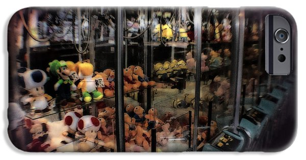Turn Of The Century Mixed Media iPhone Cases - Ghosts Of The Arcades - The Toys Come Out At Night To Play iPhone Case by Michael Braham