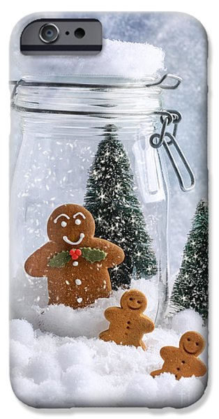 Christmas iPhone Cases - Gingerbread iPhone Case by Amanda And Christopher Elwell