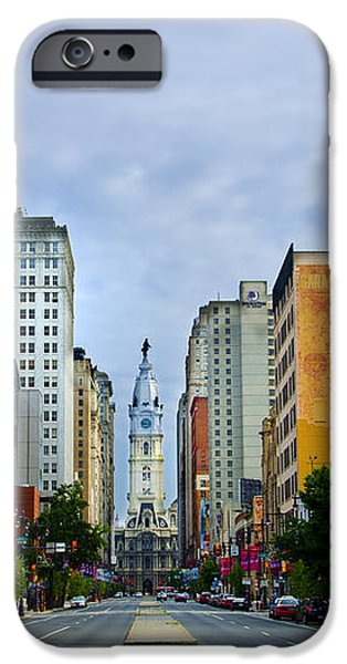 Give My Regards to Broad Street iPhone Case by Bill Cannon