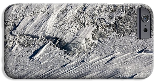 Glacier iPhone Cases - Glacier iPhone Case by Frank Tschakert
