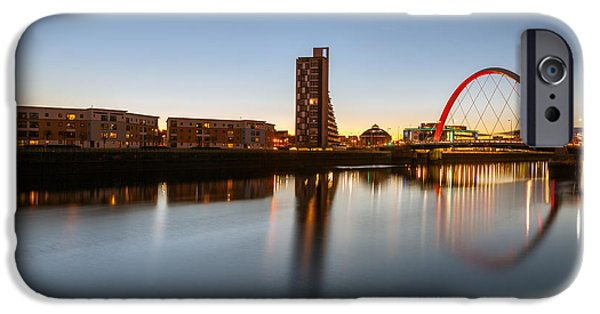 Mean iPhone Cases - Glasgow Clyde Arc  iPhone Case by John Farnan