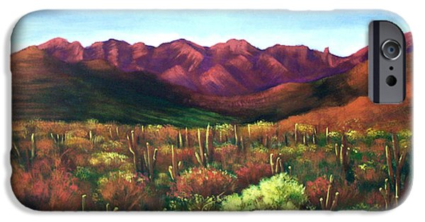 Landscape Acrylic Prints iPhone Cases - Gods Palette iPhone Case by Anthony Falbo
