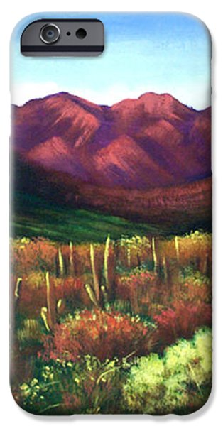 Gods Palette iPhone Case by Anthony Falbo
