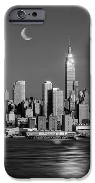 42nd Street iPhone Cases - Golden Empire iPhone Case by Susan Candelario