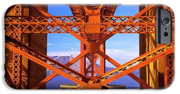 Rust iPhone Cases - Golden Gate Bridge, San Francisco iPhone Case by Panoramic Images