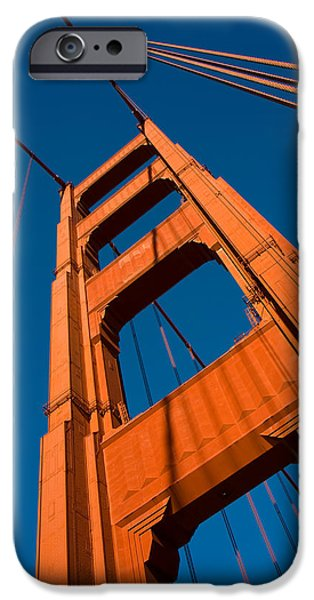 Golden tower iPhone Case by Darren Patterson