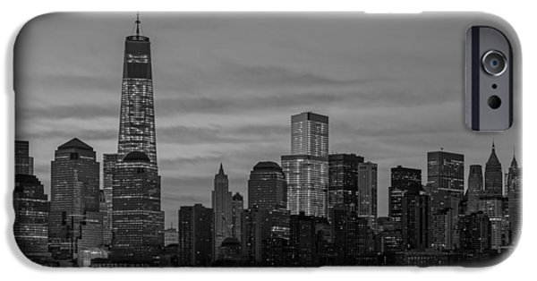 Sky iPhone Cases - Good Morning New York City iPhone Case by Susan Candelario