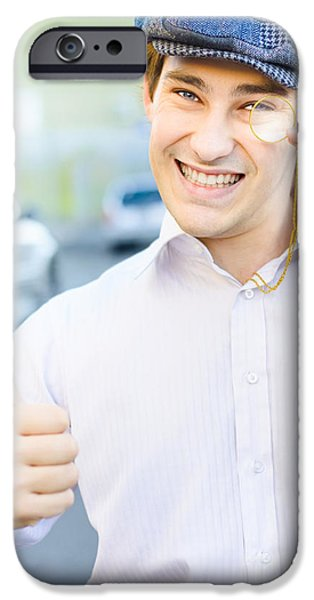 Endorsement iPhone Cases - Good Old Fashioned Business iPhone Case by Ryan Jorgensen